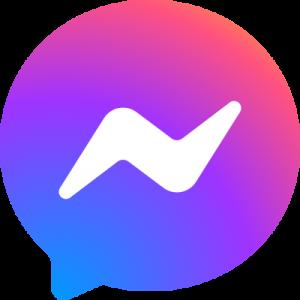 facebook messenger logo 4 11 300x300 - Facebook Messenger Logo