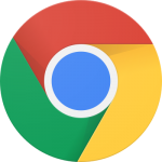 google chrome logo 101 150x150 - Google Chrome Logo