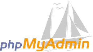 phpmyadmin logo 41 300x167 - phpMyAdmin Logo