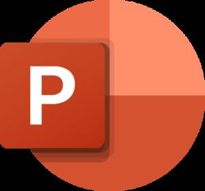 microsoft powerpoint logo 41 300x279 - Microsoft PowerPoint Logo