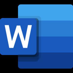 word logo 4 11 300x300 - Microsoft Word Logo