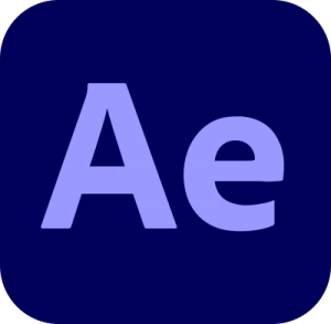 adobe after effects logo 4 11 300x293 - Adobe After Effects Logo